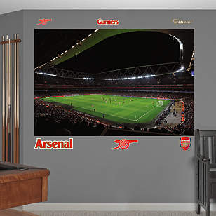 Emirates Stadium Mural